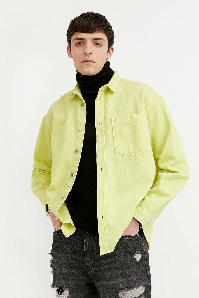 Рубашка мужская, Модель B21-25021, Фото №2