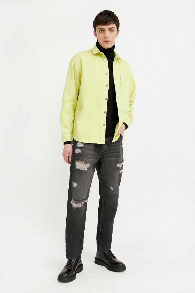 Рубашка мужская, Модель B21-25021, Фото №3