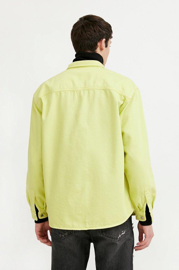 Рубашка мужская, Модель B21-25021, Фото №4