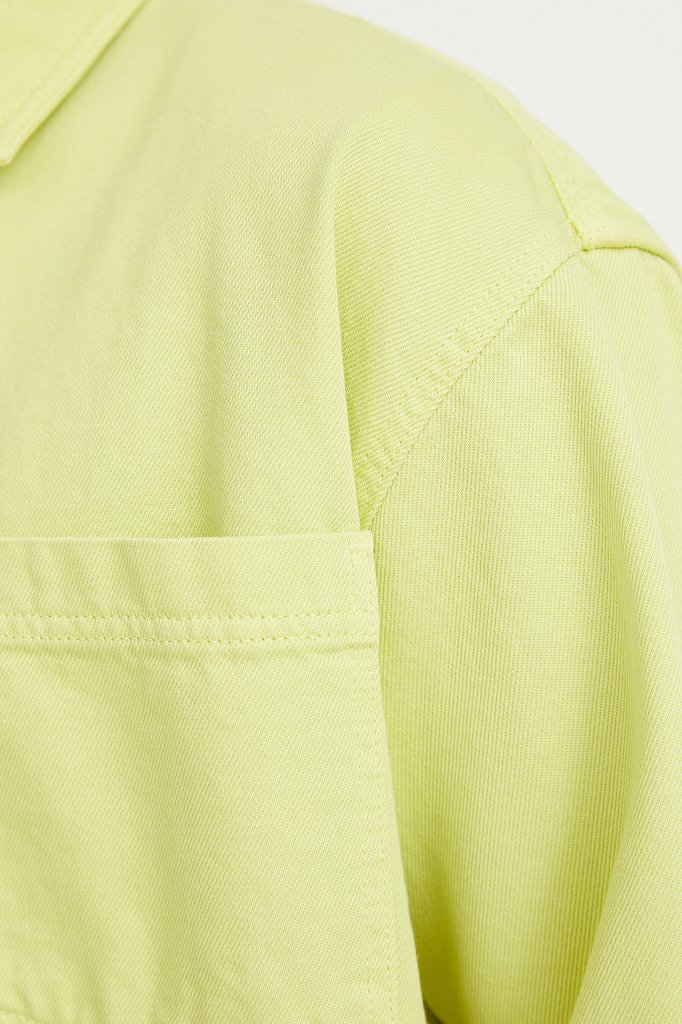 Рубашка мужская, Модель B21-25021, Фото №5