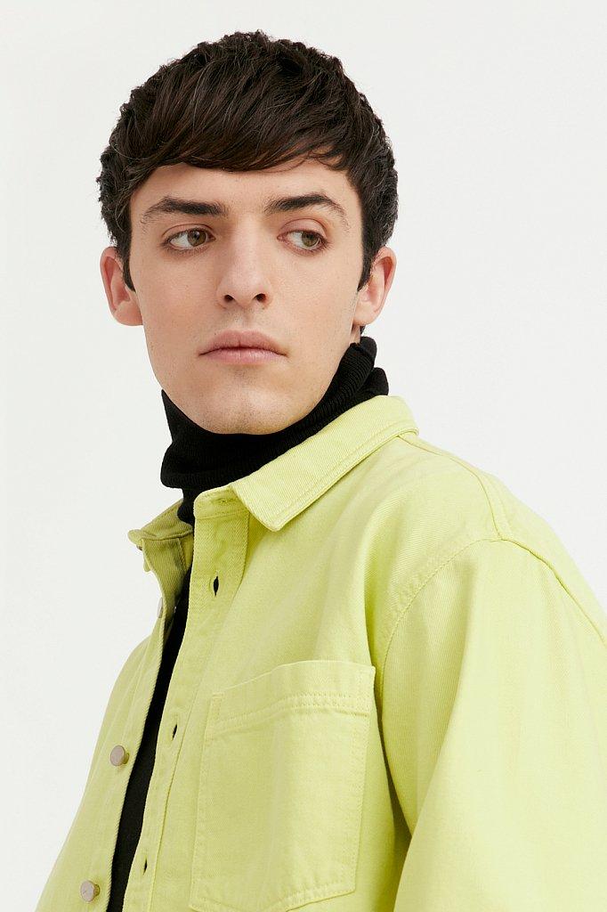 Рубашка мужская, Модель B21-25021, Фото №6