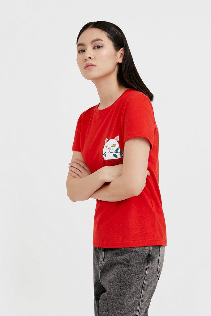 Футболка женская, Модель B21-32051, Фото №1