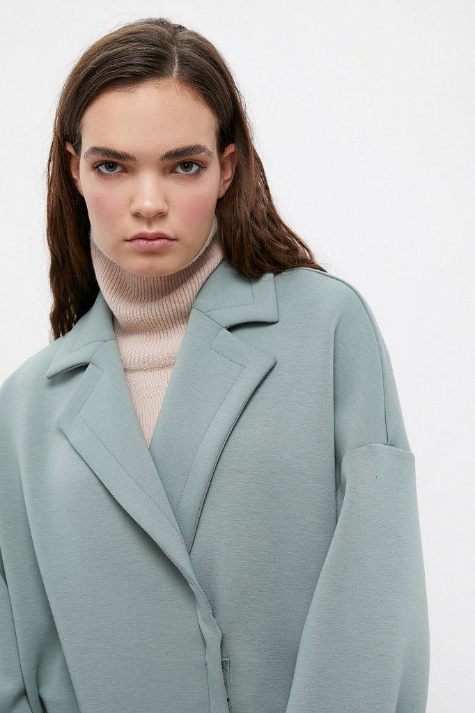 Пальто женское, Модель B21-11033, Фото №6