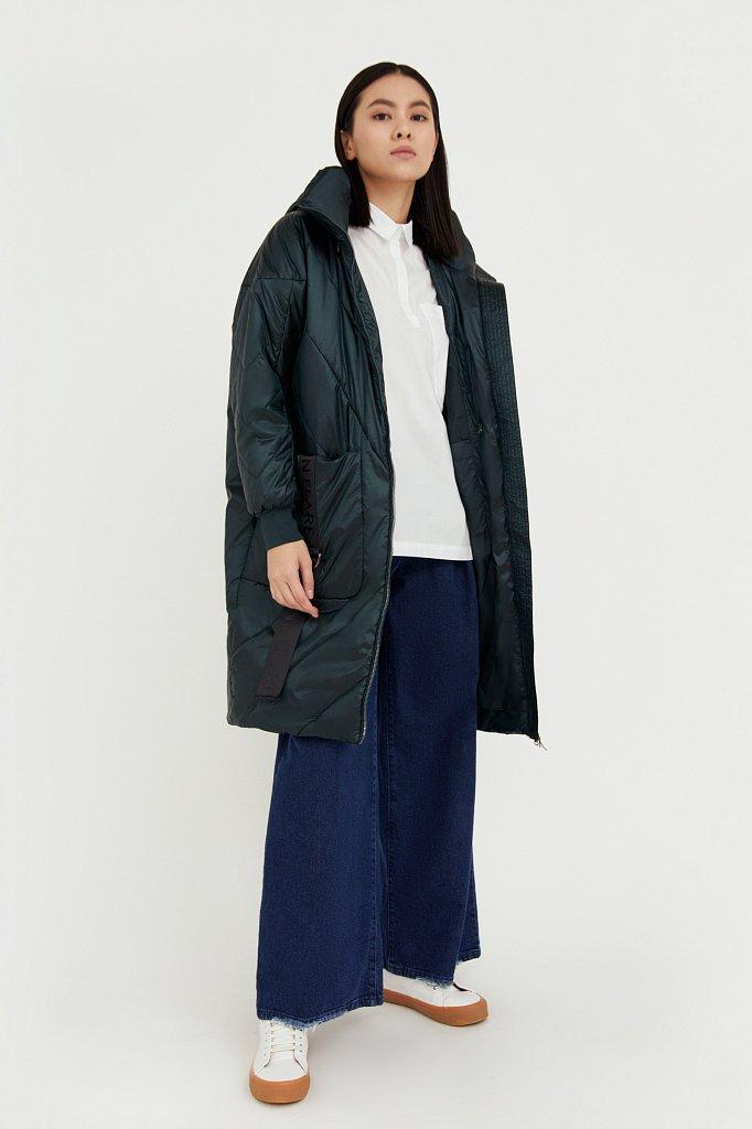 Пальто женское, Модель B21-11002, Фото №3