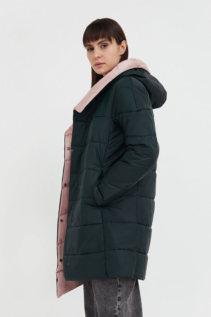 Пальто женское, Модель B21-11007, Фото №3
