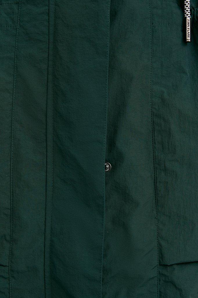 Плащ из технологичной ткани, Модель B21-11046, Фото №9