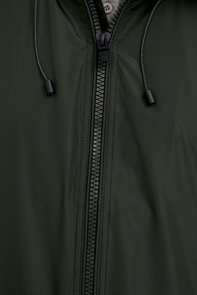 Ветровка с капюшоном и подкладкой, Модель B21-22007, Фото №6