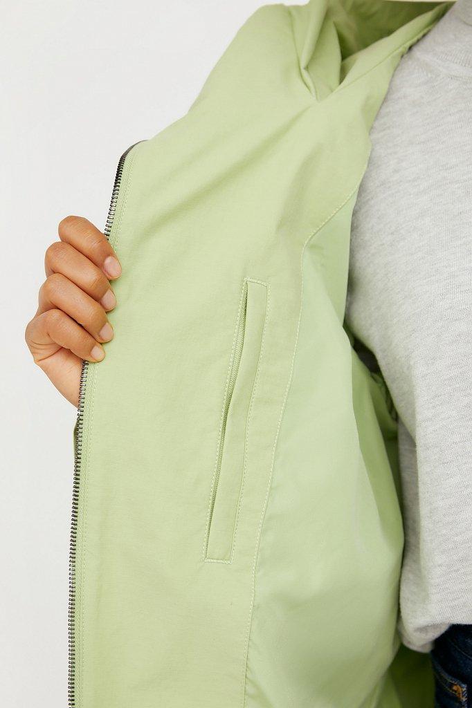 Непромокаемый плащ с капюшоном, Модель B21-11060, Фото №4