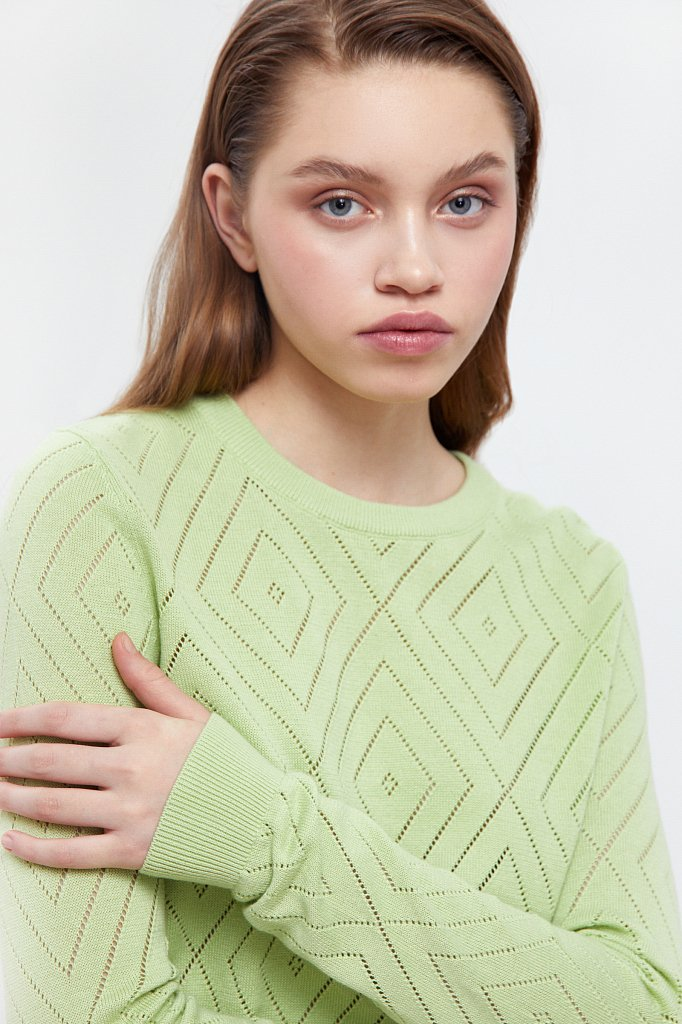 Джемпер женский, Модель B21-11110, Фото №6
