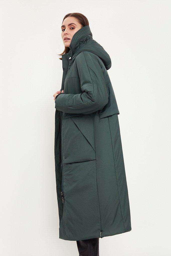Пальто женское, Модель B21-32057, Фото №1