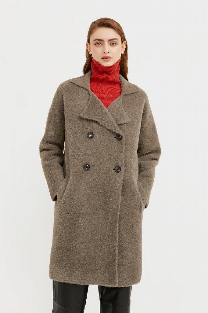 Пальто женское, Модель B21-12121, Фото №2