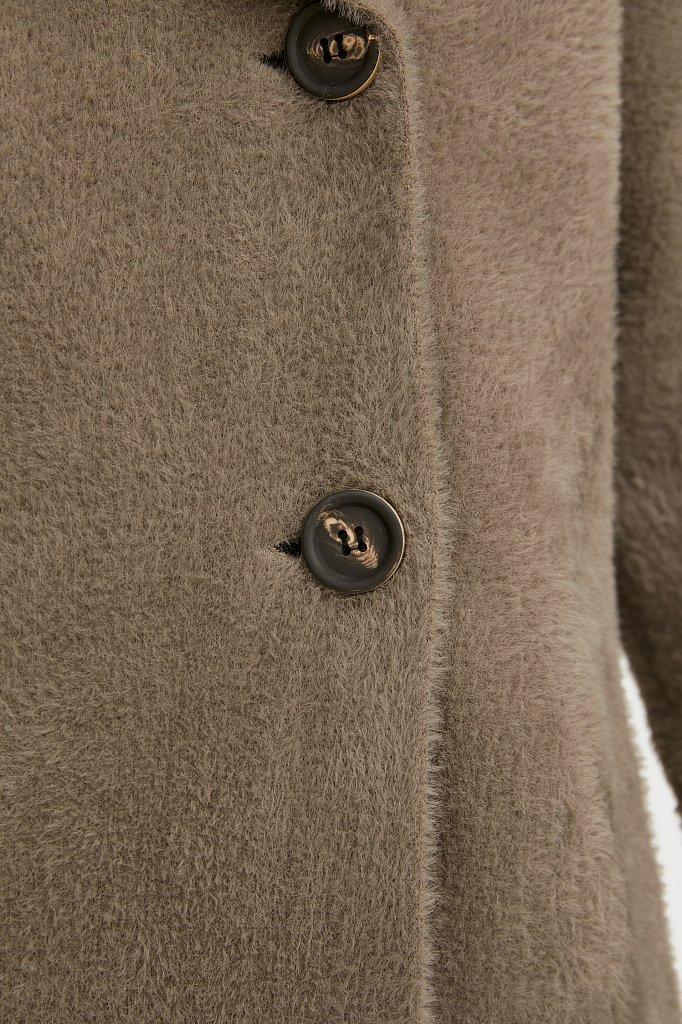 Пальто женское, Модель B21-12121, Фото №5