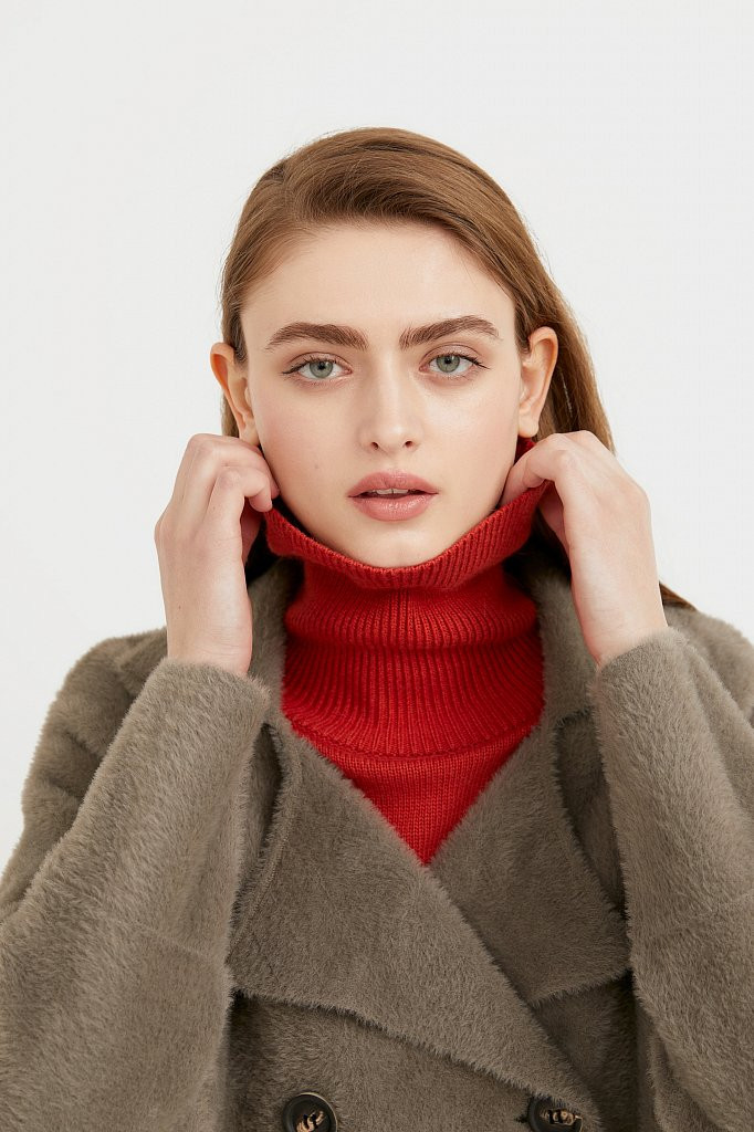 Пальто женское, Модель B21-12121, Фото №6