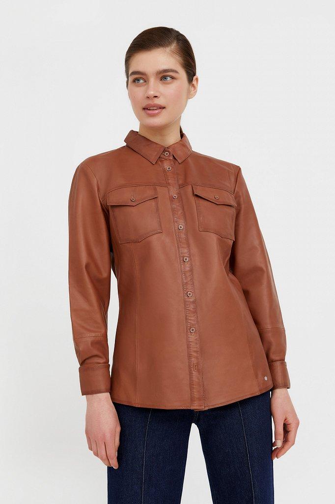 Рубашка женская, Модель B21-11818, Фото №2