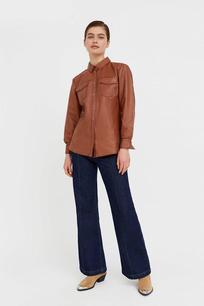 Рубашка женская, Модель B21-11818, Фото №3
