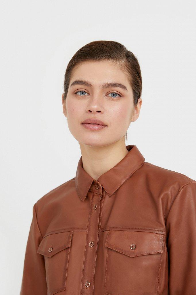 Рубашка женская, Модель B21-11818, Фото №7