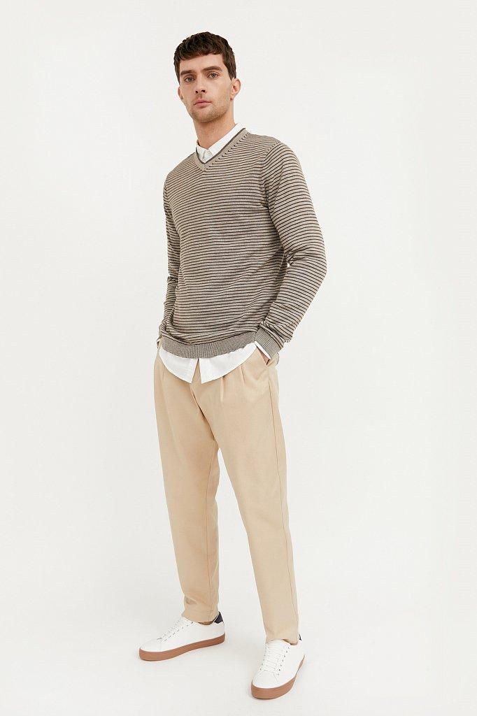 Джемпер мужской, Модель B21-21107, Фото №1