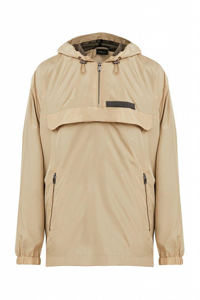 Непромокаемый анорак с капюшоном, Модель B21-42008, Фото №8