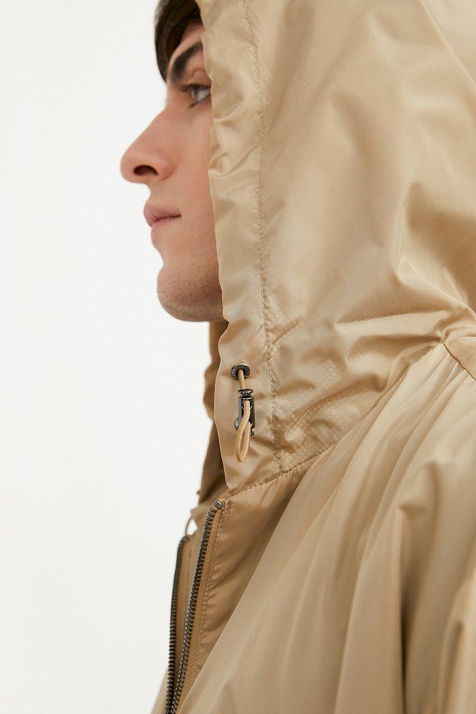 Непромокаемый анорак с капюшоном, Модель B21-42008, Фото №6