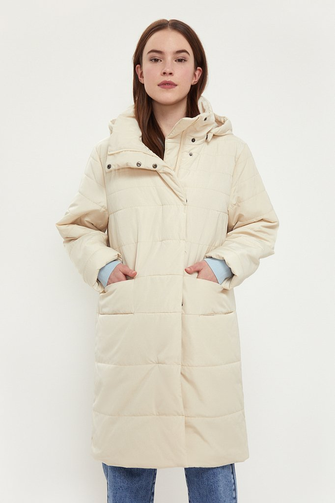 Пальто женское, Модель B21-12002, Фото №2