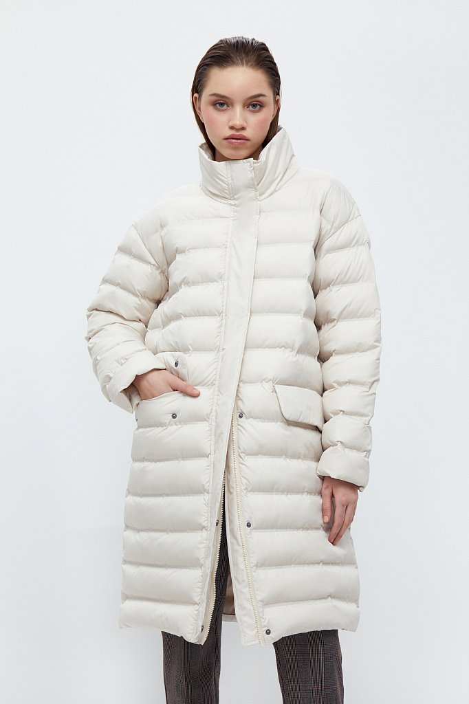 Пальто женское, Модель B21-12043, Фото №1