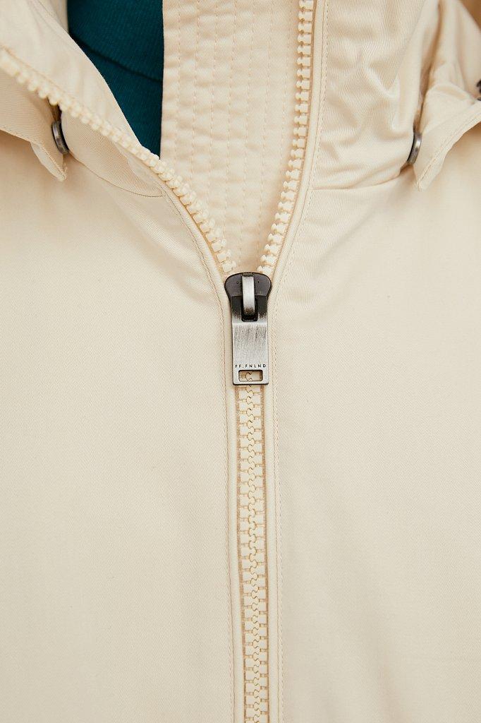 Непромокаемый плащ с капюшоном и подкладкой, Модель B21-12061, Фото №7