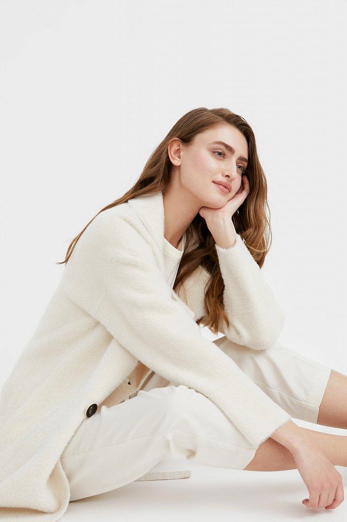 Пальто женское, Модель B21-12121, Фото №1