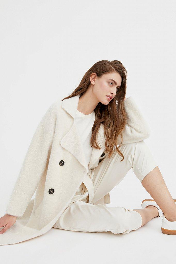 Пальто женское, Модель B21-12121, Фото №4