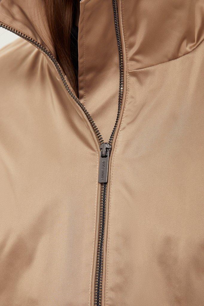 Ветровка из технологичной ткани, Модель B21-11047, Фото №5