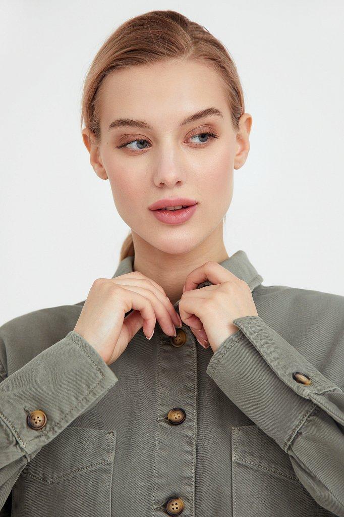 Блузка джинсовая женская, Модель B21-15031, Фото №7