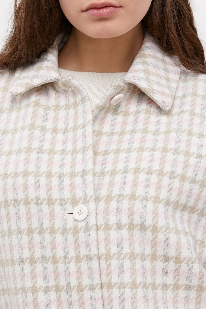 Пальто женское, Модель B21-11004, Фото №5