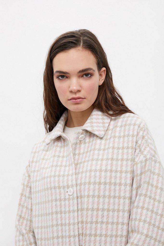Пальто женское, Модель B21-11004, Фото №6