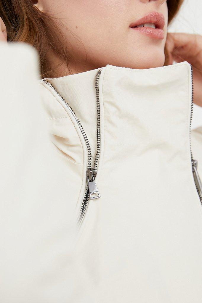 Непромокаемый плащ с капюшоном, Модель B21-11060, Фото №6
