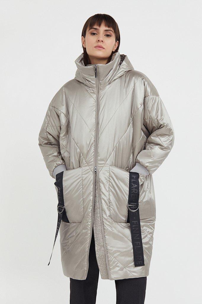 Пальто женское, Модель B21-11002, Фото №2
