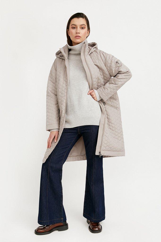 Пальто женское, Модель B21-32004, Фото №3