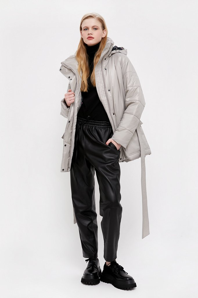 Пальто женское, Модель B21-32008, Фото №3