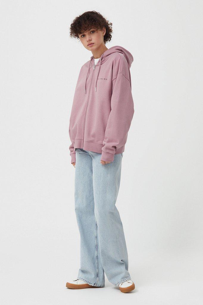 Толстовка женская с принтом «Алтай», Модель B21-110100, Фото №3
