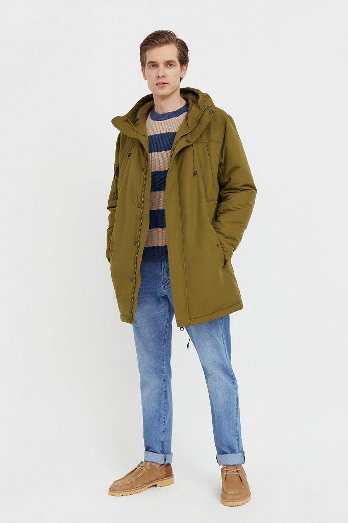 Полупальто мужское, Модель B21-22015, Фото №3