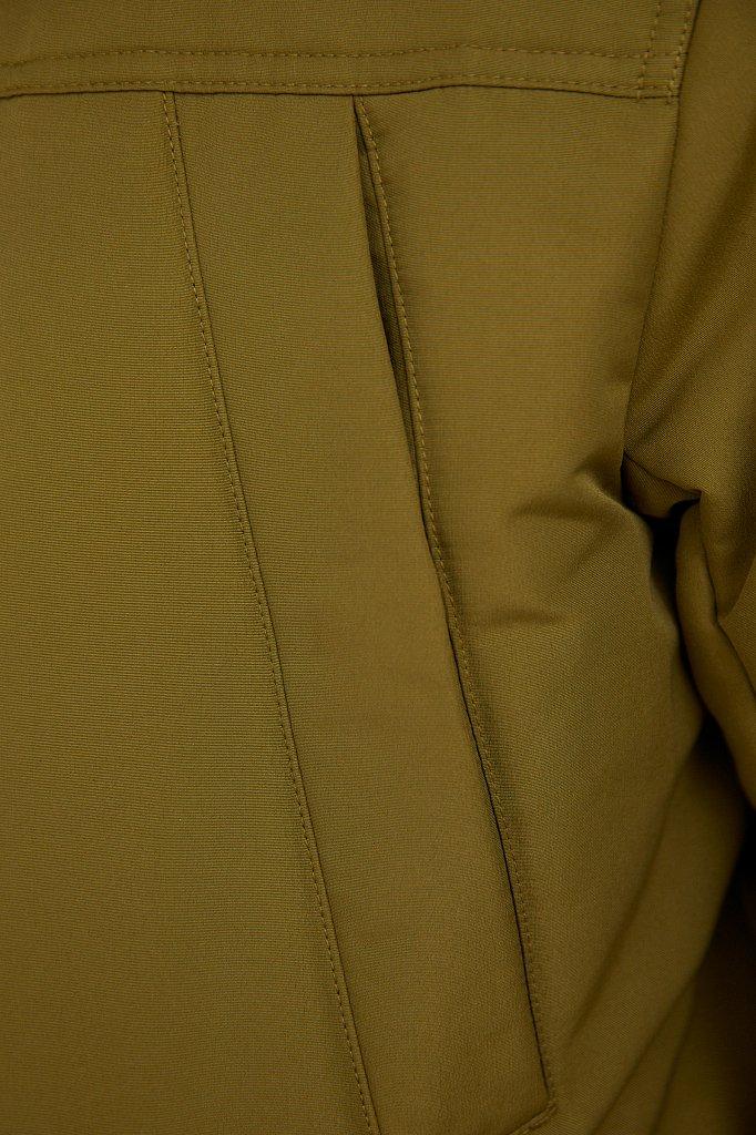 Полупальто мужское, Модель B21-22015, Фото №5