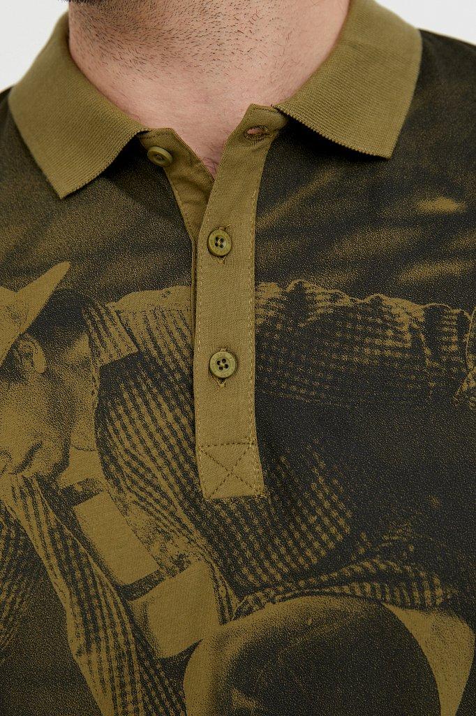 Поло мужское, Модель B21-42021, Фото №5