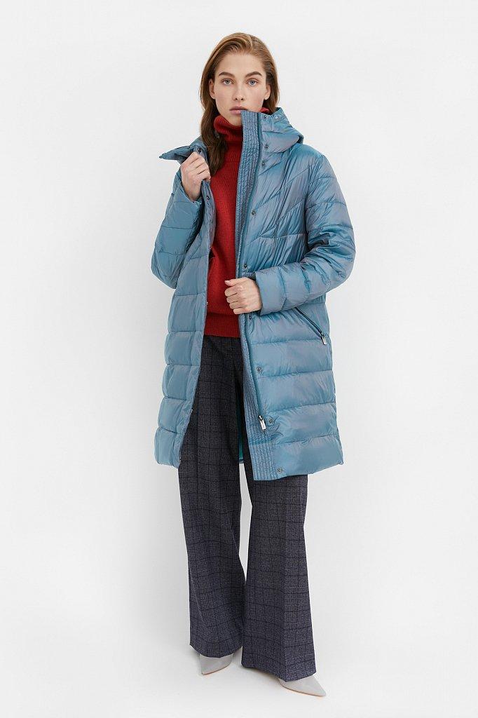 Пальто женское, Модель B21-12040, Фото №2