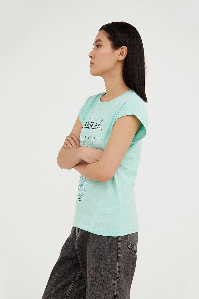 Футболка женская, Модель B21-11021, Фото №3