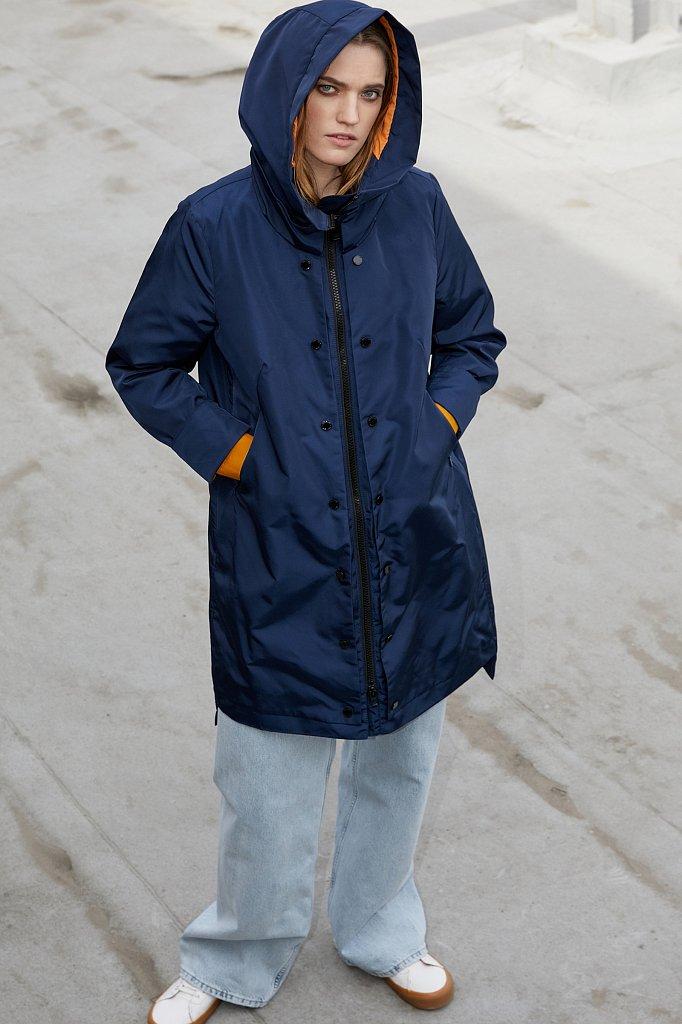 Непромокаемый плащ с капюшоном, Модель BA21-12021, Фото №1