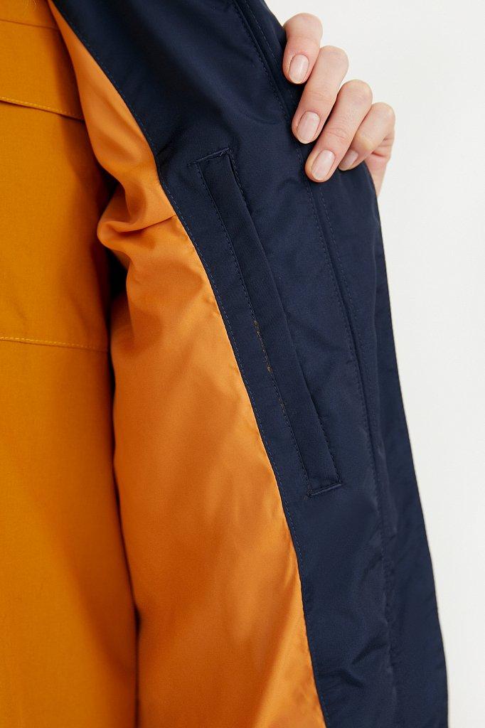 Непромокаемый плащ с капюшоном, Модель BA21-12021, Фото №6