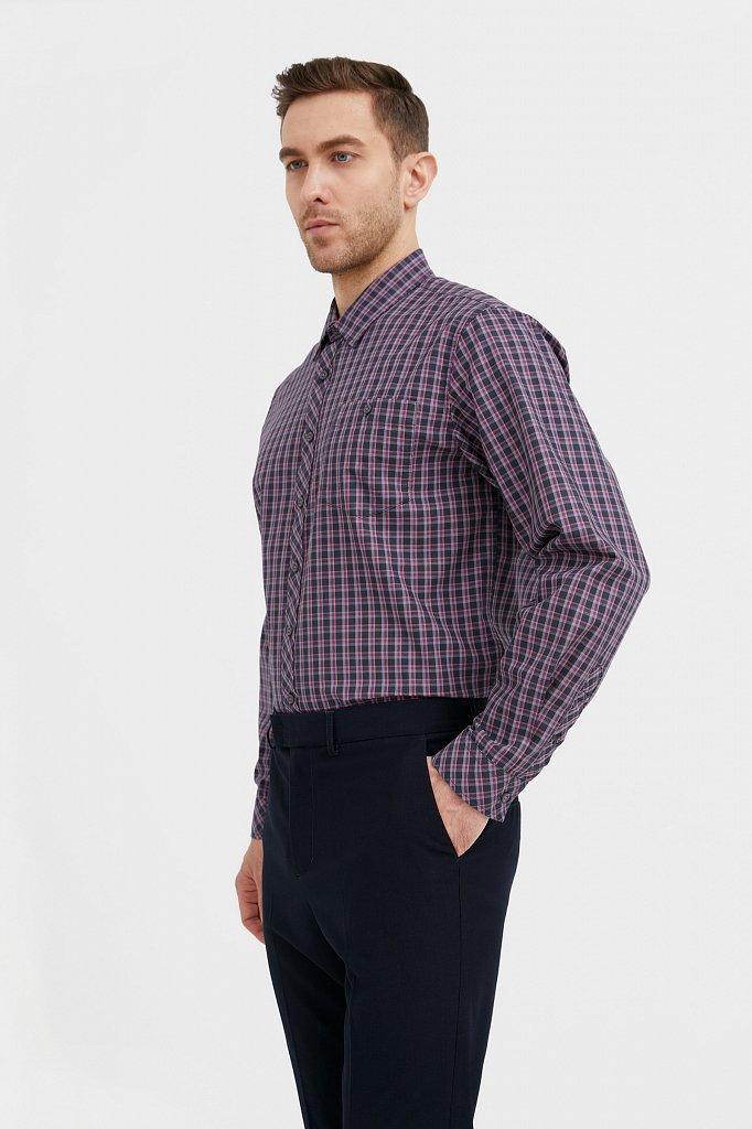 Рубашка мужская, Модель BA21-21026, Фото №3