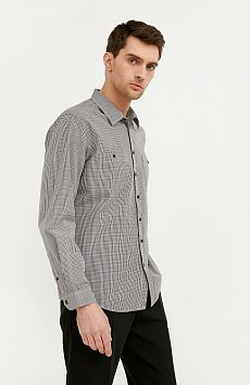 Рубашка мужская BA21-21028