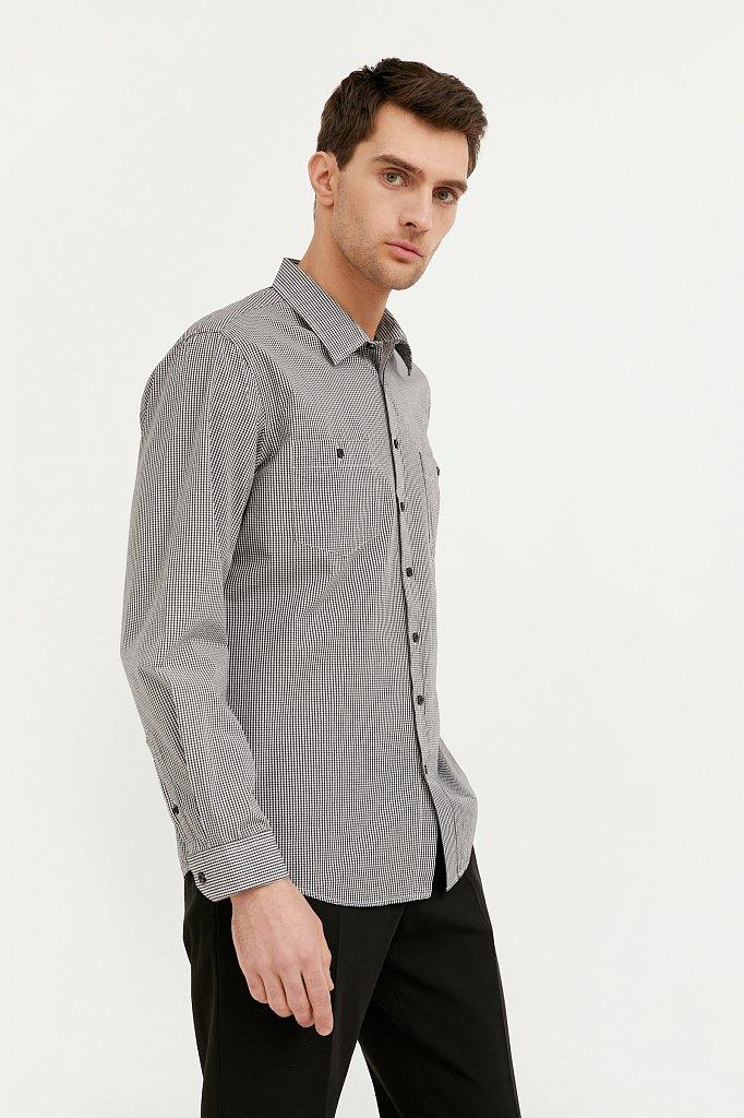 Рубашка мужская, Модель BA21-21028, Фото №1