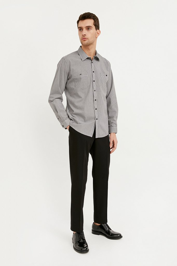 Рубашка мужская, Модель BA21-21028, Фото №3