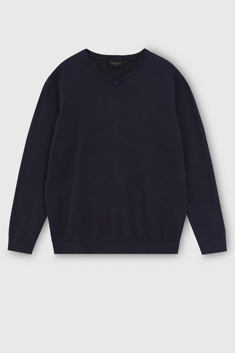 Базовый мужской пуловер прямого силуэта, Модель BAS-20101, Фото №7