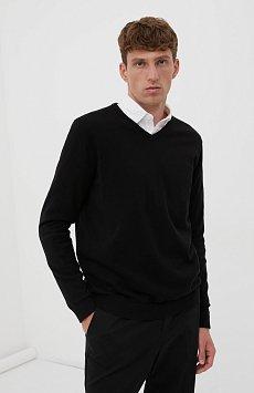 Базовый мужской пуловер прямого силуэта BAS-20101